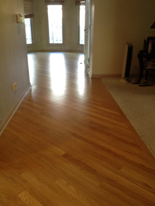 wood floors installed on 45 degree angle