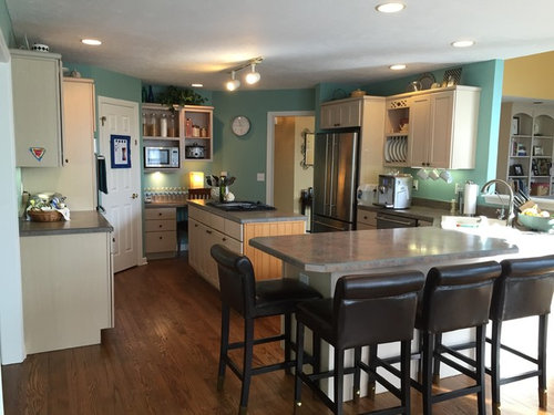 HELP! Color scheme with pickled cabinets
