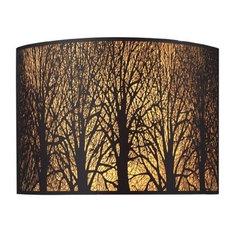 ELK Lighting 31070/2 Woodland Sunrise 2 Light Wall Sconces in Aged Bronze