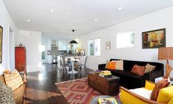 Hip Silverlake Living Room in Global Modern Style