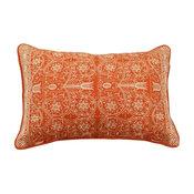 Pushkar Throw Pillow, Orange