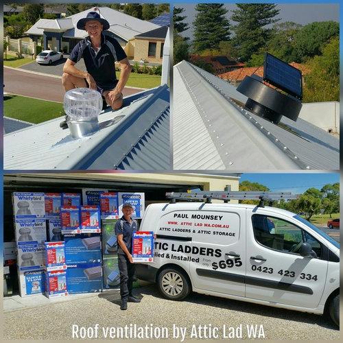 Roof ventilation Perth by Attic Lad WA - Vents & Grilles
