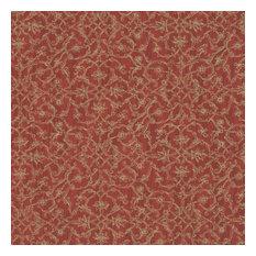 Hedge Wallpaper, Red, Sample