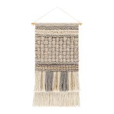 Cordoba Wall Accent, Khaki/Light Gray/Medium Gray/Ivory/Dark Brown