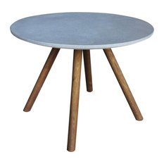 Nathan Cement Side Table