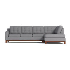 Apt2B   Brentwood 2 Piece Sectional Sofa, Mountain Gray, Chaise On Right