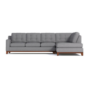 Astonishing Vogue Sectional With Reversible Chaise Transitional Gmtry Best Dining Table And Chair Ideas Images Gmtryco