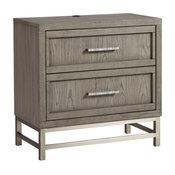 Palliser Furniture, Venice 2-Drawer Nightstand, USB port