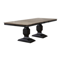 "Millbrook Dining Room Table With 2 15"" Butterfly Leaf Extensions"