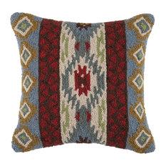 Peking Handicraft, Inc. - Corral Kilim Vertical Hook Pillow - Holiday Decorations