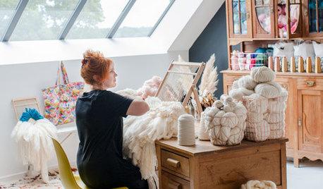 Visita privada: La nueva vida en el campo de una artesana textil