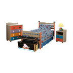 Disney Pirates Twin Bed Eclectic Kids Beds By Rooms