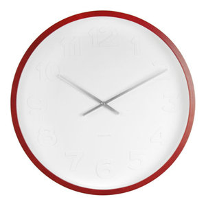 Mr White Numbers Wooden Clock, Small