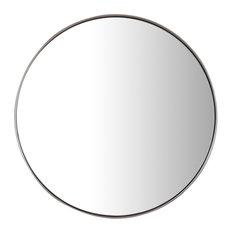"Simplicity 20"" Mirror, Brushed Nickel"