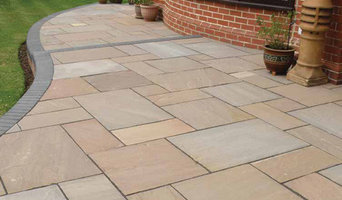 Indian sand stone patio