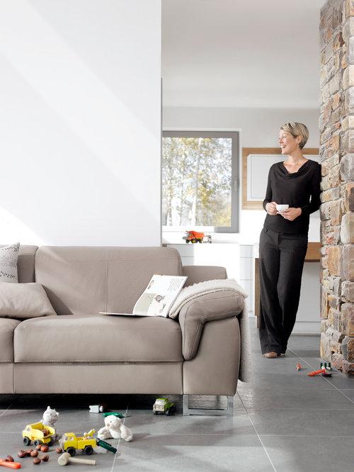 Leather Sofas By Rom, Belgium