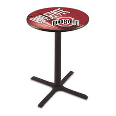 Ohio State Pub Table 42-inch by Holland Bar Stool Company