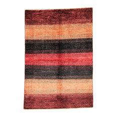 Ziegler Gabbeh Oriental Rug, Pakistan Hand-Knotted Modern, 175x120 cm