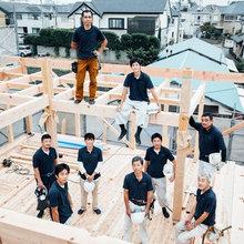 長く私たちの家造りに携わる熟練の職人