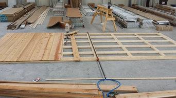 Custom Wood Garage