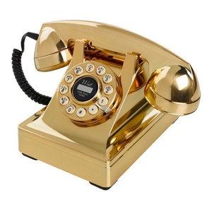 Wild & Wolf Series 302 Telephone, Gold