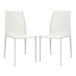 Safavieh Korbin Side Chairs, Set of 2, White
