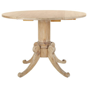 Safavieh Forest Drop Leaf Dining Table Traditional Dining Tables By Safavieh