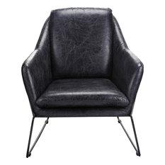 Greer Club Chair, Black