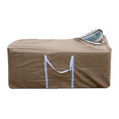 """KoverRoos III Cushion Storage Bag, Taupe, 49""""x19""""x23"""""""