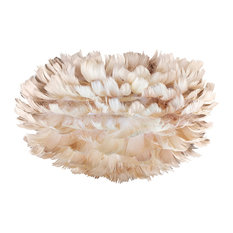 Vita Eos Mini Feather Lamp Shade, Light Brown