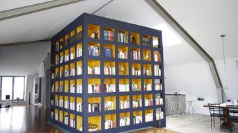 Bücherturm - Penthouse