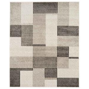 Couture COU14 Rug, Grey, 200x290 cm