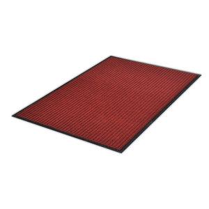 VidaXL  PVC Door Mat, Red, 90x60 cm
