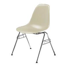 herman miller eames molded plastic side chair wafer feltbottom glides - Herman Miller Eames Chair