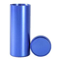 "Titanium Alloy Container Coffee Tea Canister 1.8""x4.6"", 08"