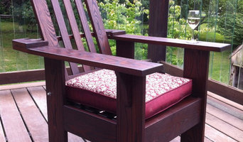 Thermally Modified Morris style Adirondack Chair