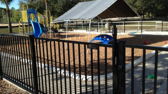 Commercial Playground Fence