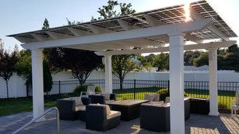 Pergola Solar Panel Installation