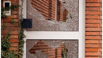 Residential Broken Glass Window Repair Services
