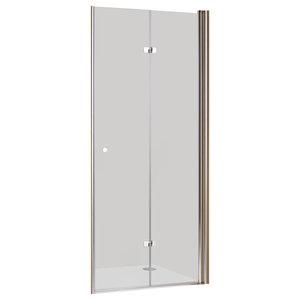 Folding Swing Shower Door, Medium, Right