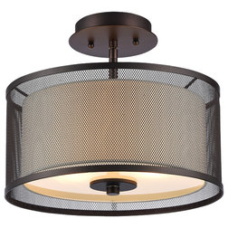 Transitional Flush-mount Ceiling Lighting by CHLOE Lighting, Inc.