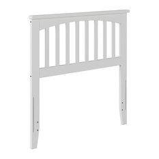 Atlantic Furniture Mission Twin Spindle Headboard in White