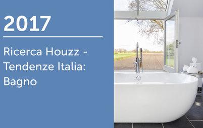 Ricerca Houzz - Tendenze Italia 2017: Bagno