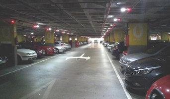 Diagnóstico energético de instalación de iluminación en garaje