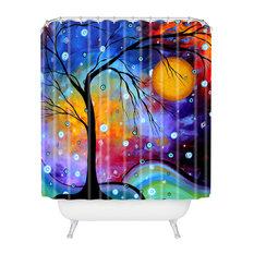 madart inc Winter Sparkle Shower Curtain