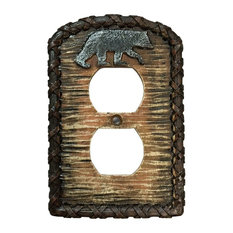 HiEnd Accents   Bear Outlet Cover   Baby Gates And Child Safety
