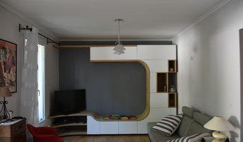 Meuble tv alcôve