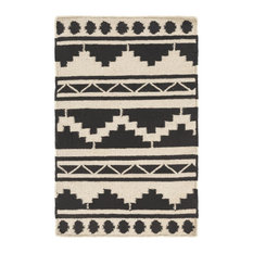 Surya Frontier FT431 Brown/Black Flatweave Southwest Area Rug, 8'x11'