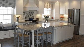 Starmark White & Blue Kitchen