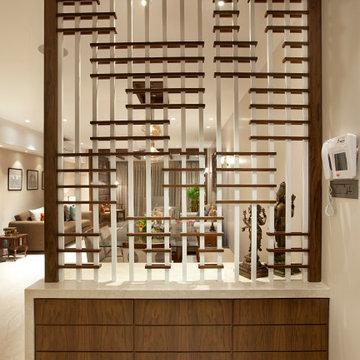 Tradition meets Modernity in this Mumbai Apartment at Dadar